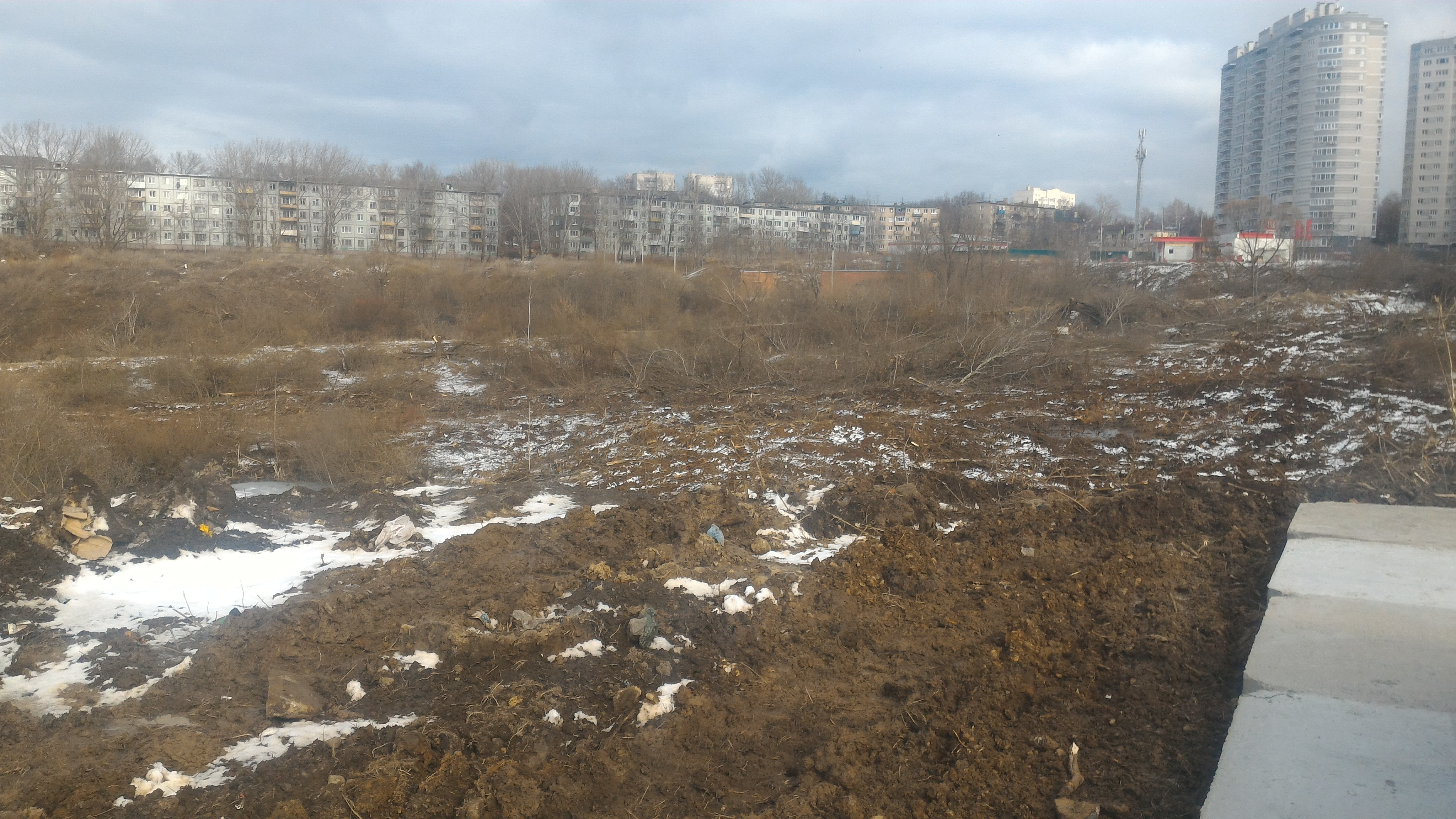 Расчистка участка под строительство Тула